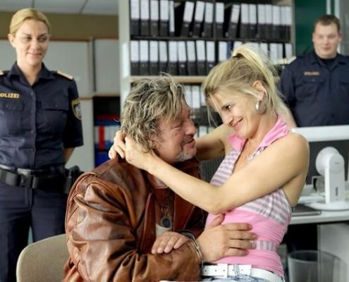 Doris Hindinger in Cop Stories