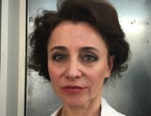 Schauspielerin Kathrin Beck als Madame Borek in Liebermann