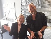 Schauspieler Erol Nowak am Set von SOKO Donau Wien